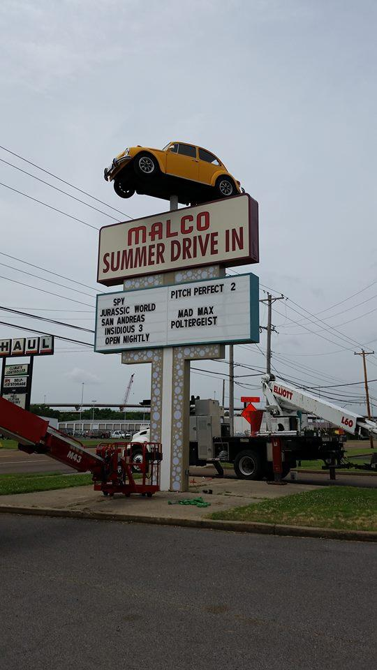 Malco Summer Drive-In VW